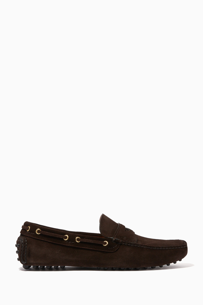 Penny Loafers in Suede