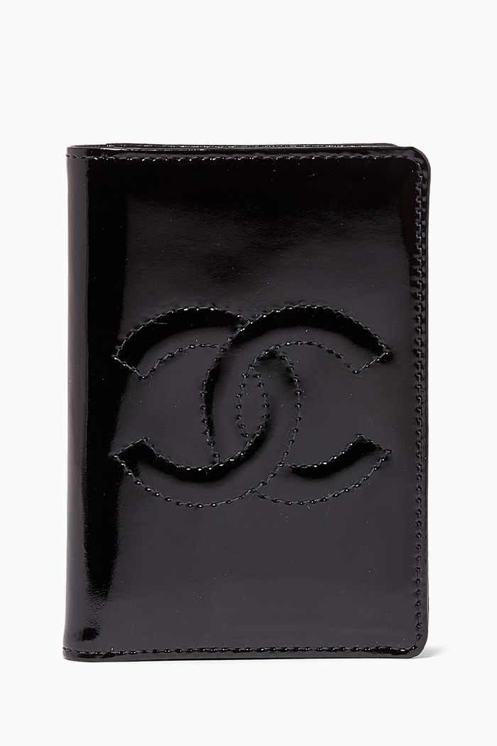 CC Card Holder in Patent Leather