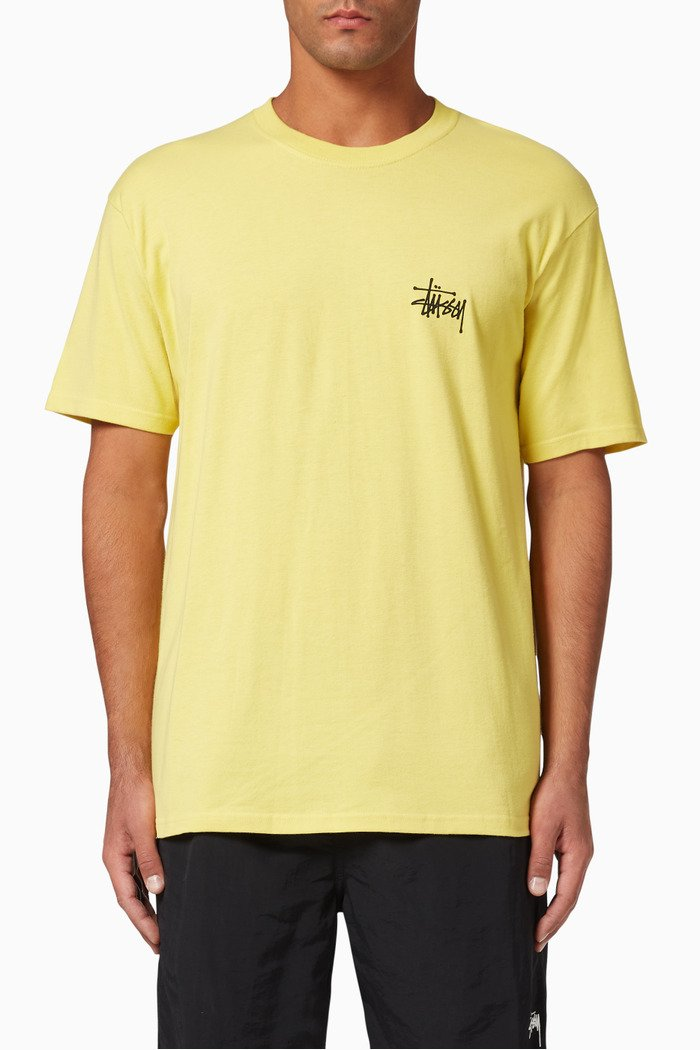 Basic Stussy Cotton T-Shirt