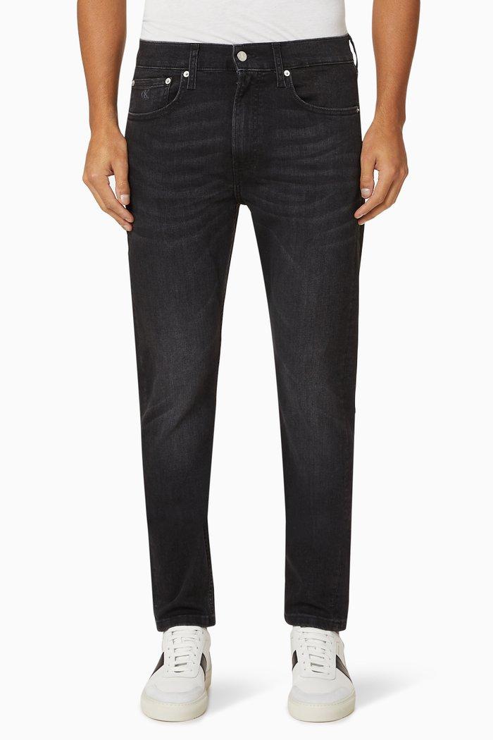 Slim Tapered Denim Jeans