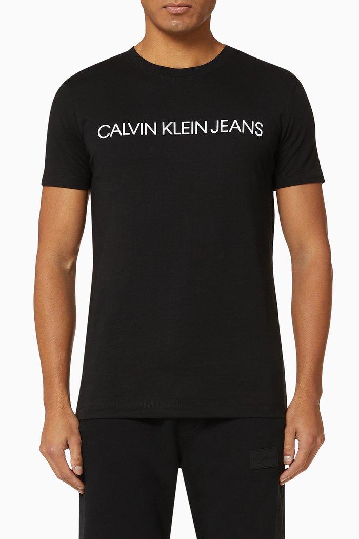 CK Logo Jersey T-Shirt, Pack of 2