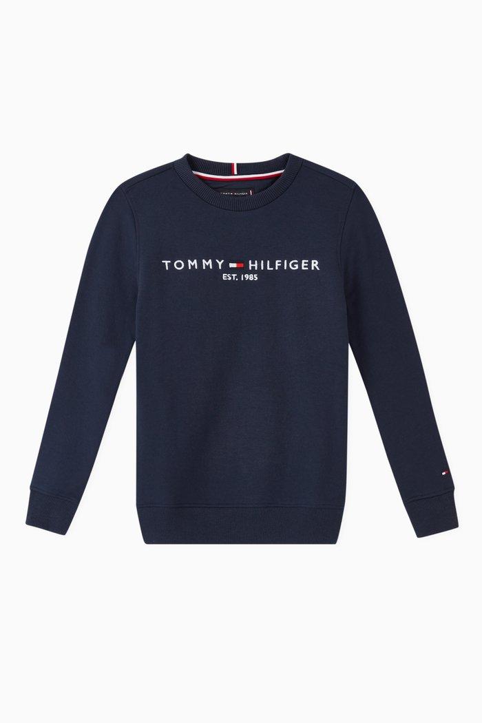 Essential Logo Jersey Sweatshirt