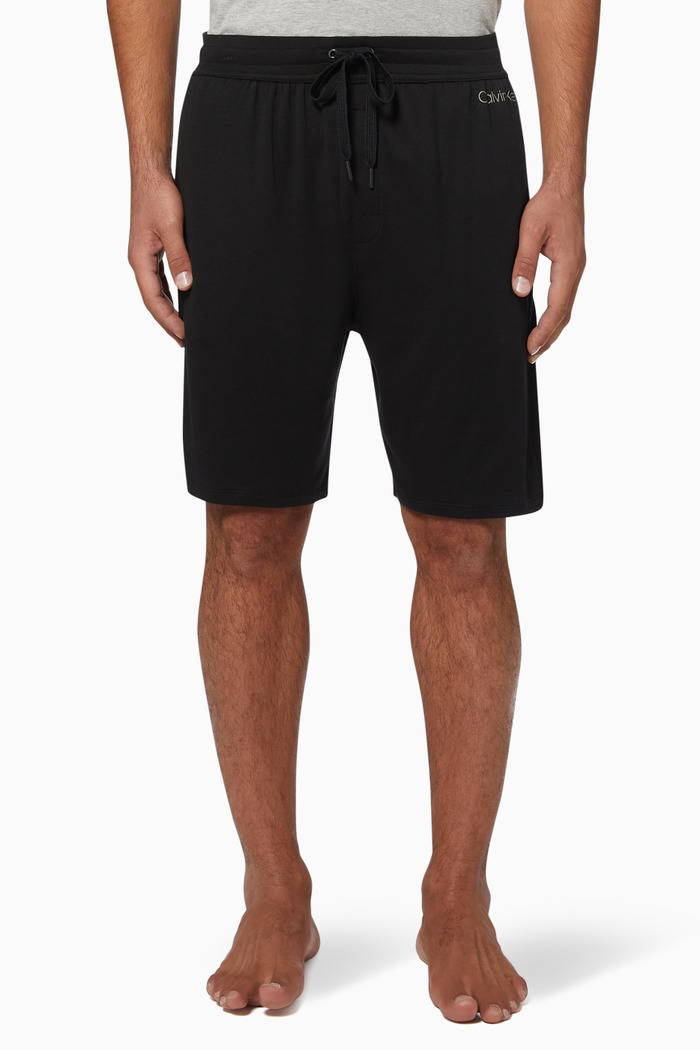 Logo Cotton Stretch Shorts