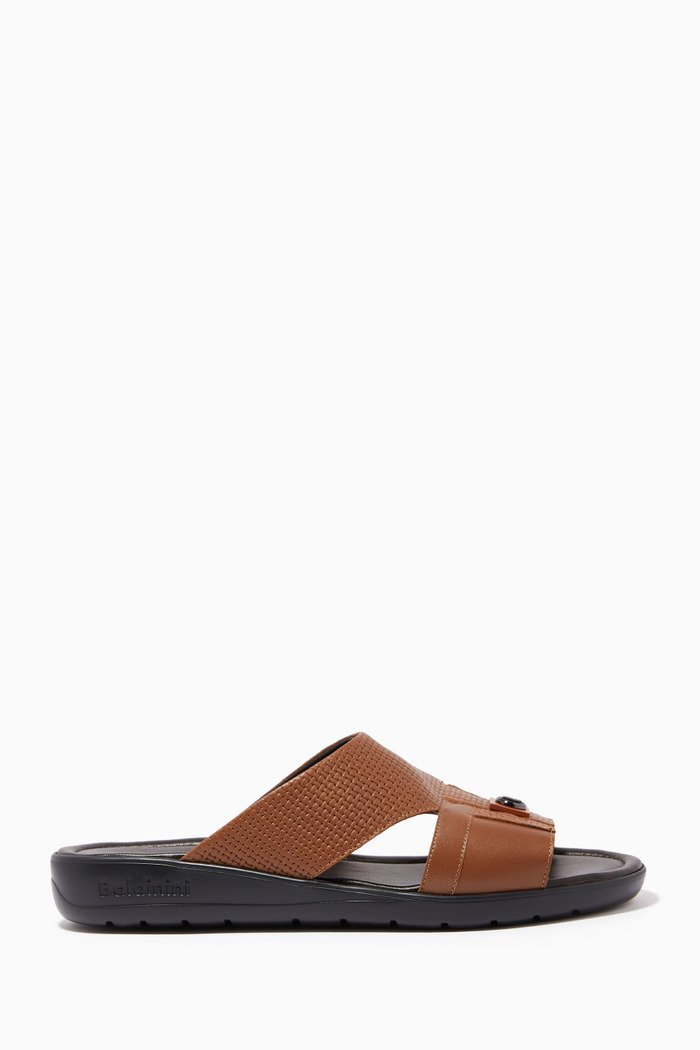 Arabic Sandals in Woven Leather