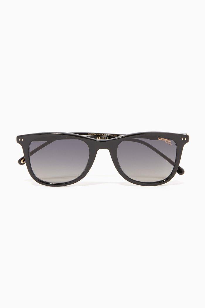 197/S Rectangular Sunglasses in Optyl