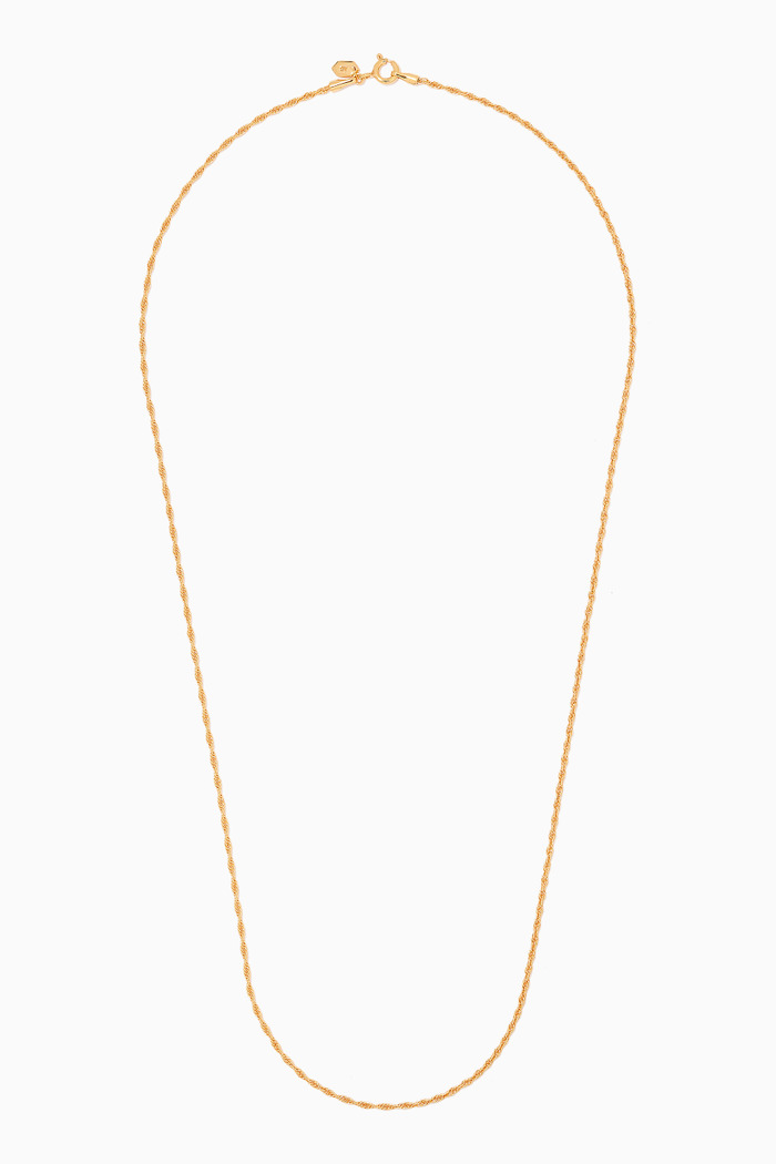 Sofia Necklace in Gold Plated Silver