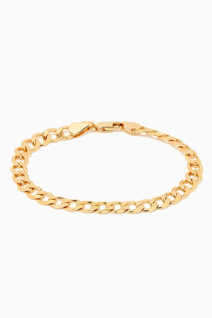 Forza Bracelet in Gold Plated Silver