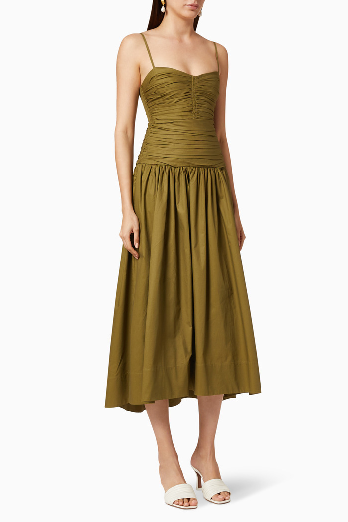 Amaia Ruched Dress