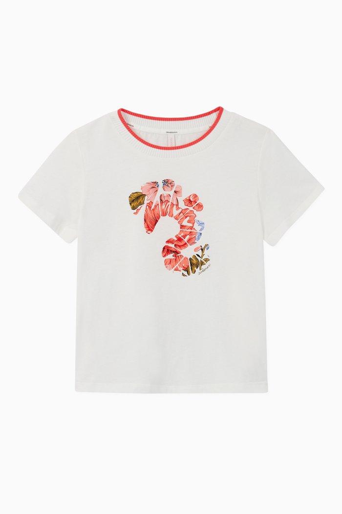 Poppy Rib T-Shirt