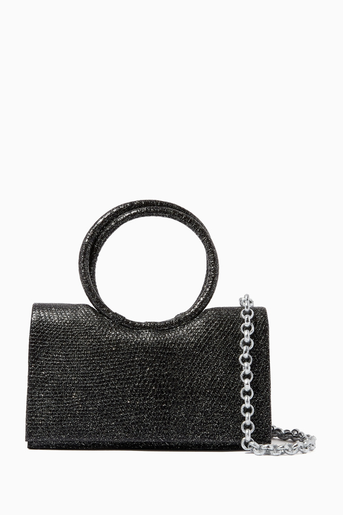 Regina Shoulder Bag in Lizard Leather