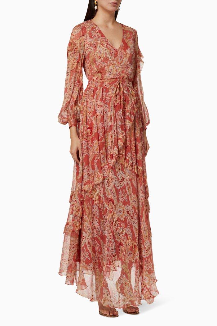 Gwendolyn Silk Maxi Dress