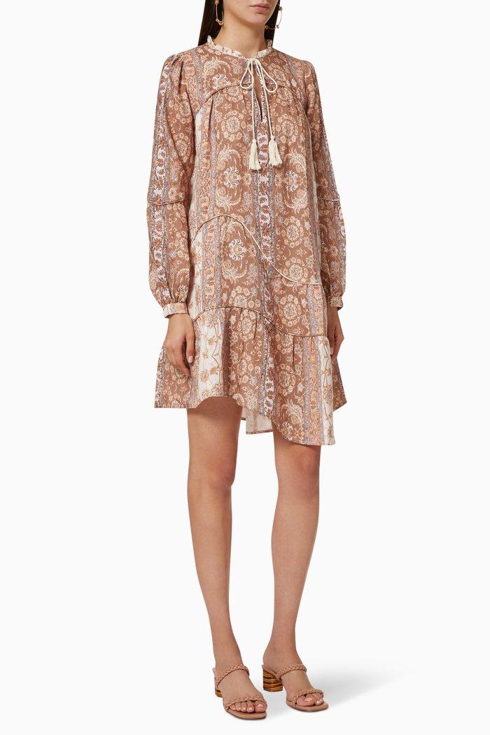 Vivienne Linen Asymmetrical Dress