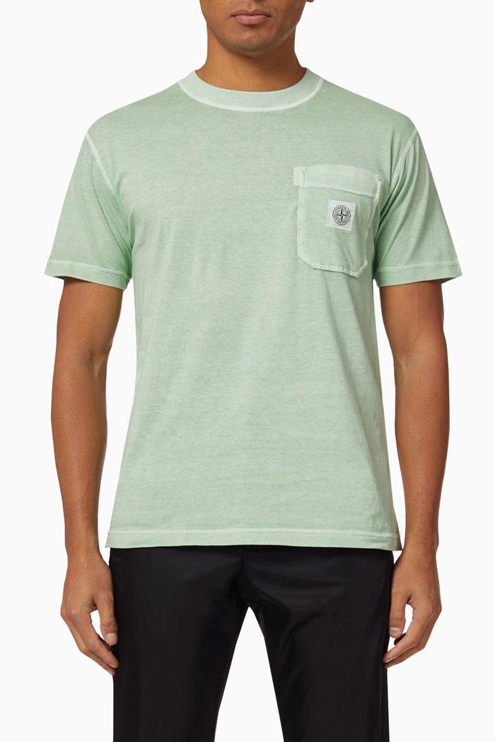 Compass Logo Cotton T-Shirt