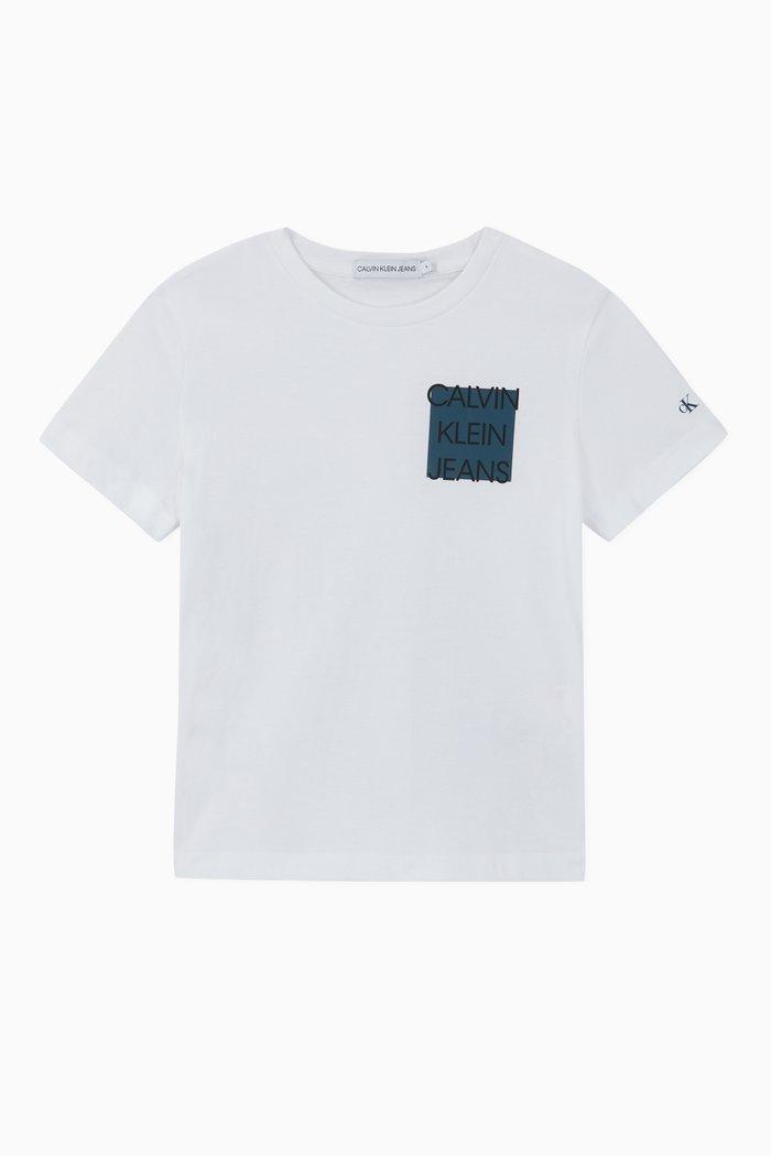 Logo Box Organic Cotton T-Shirt