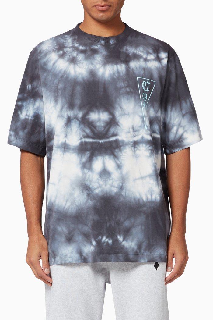 County of Milan Tie Dye Cotton T-shirt