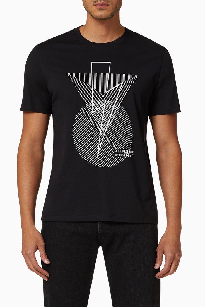 Bauhaus Bolt T-shirt in Cotton Jersey