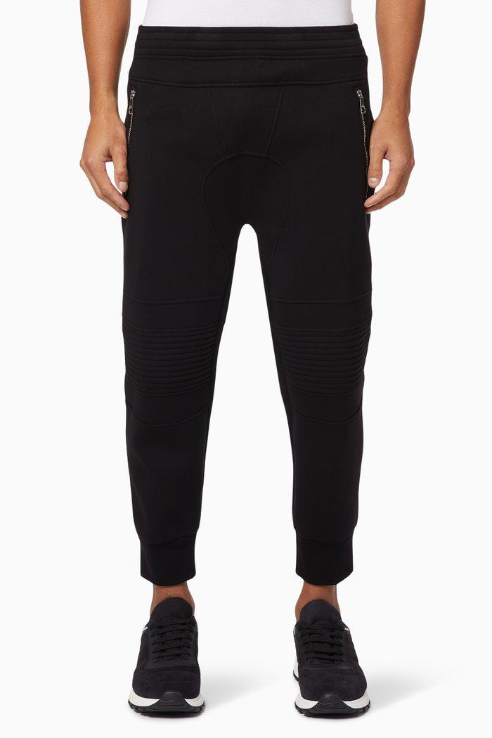 Biker Skinny-Fit Jersey Sweatpants