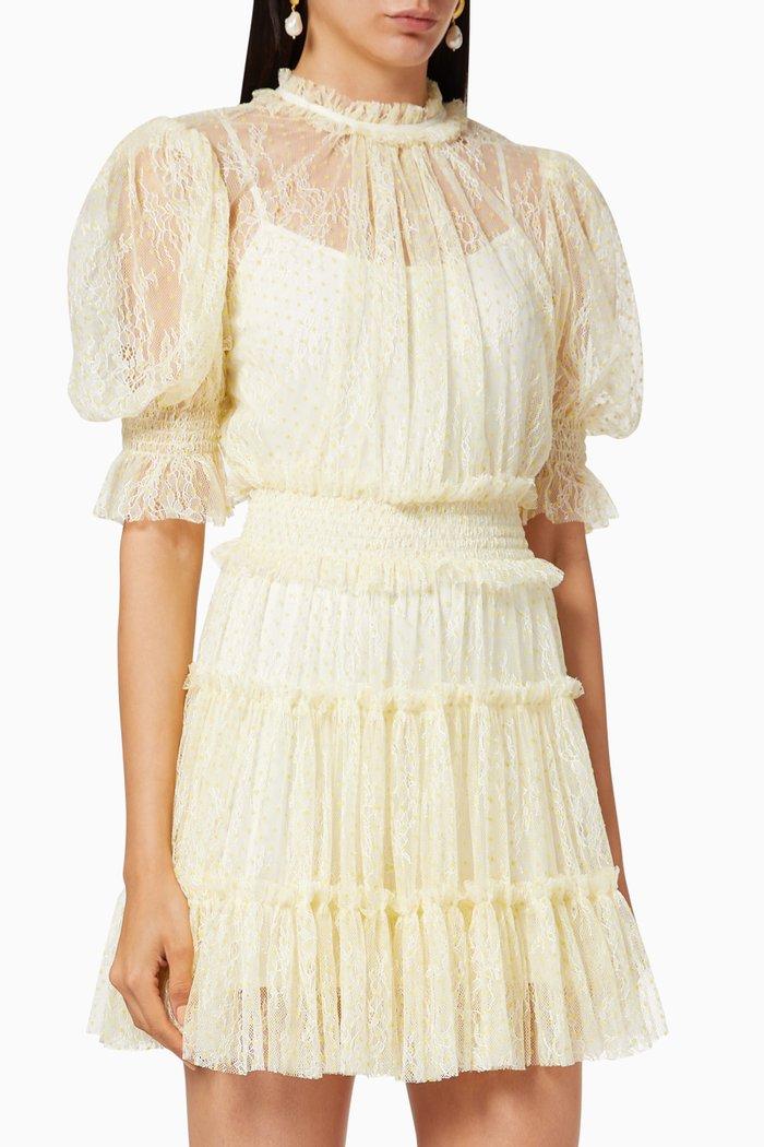 Ily Lace Mini Dress