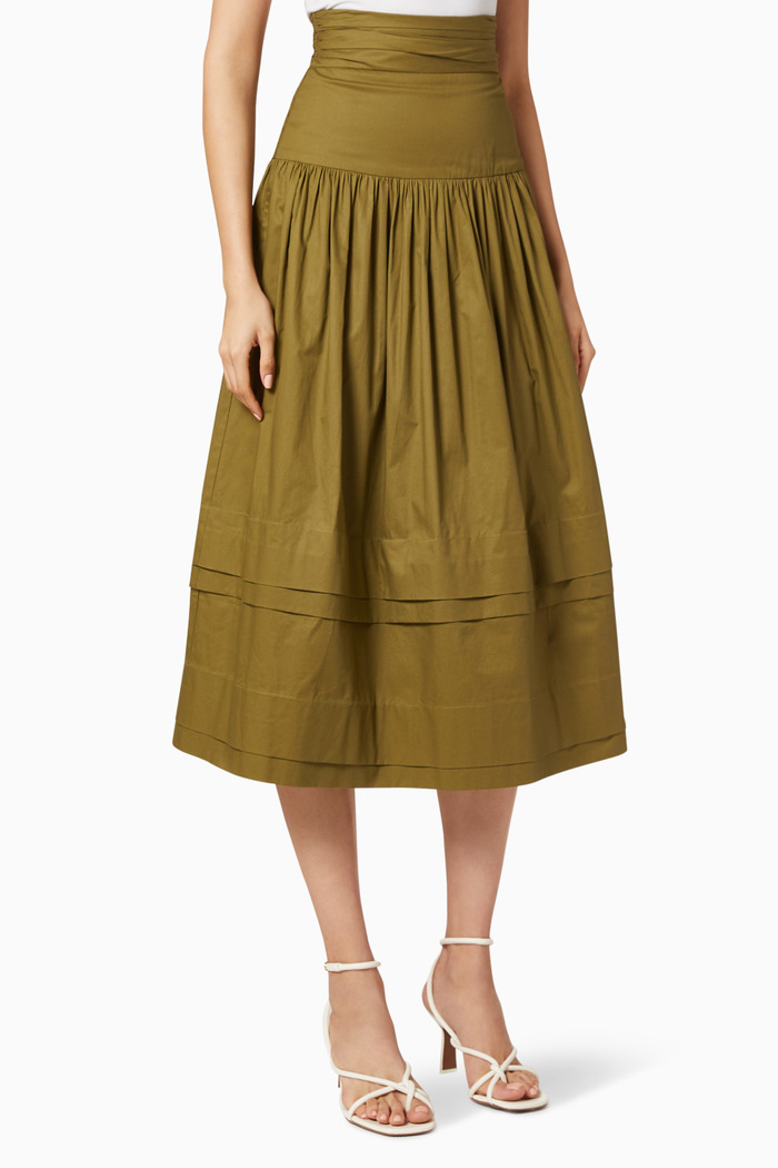 Amaia Ruched Skirt