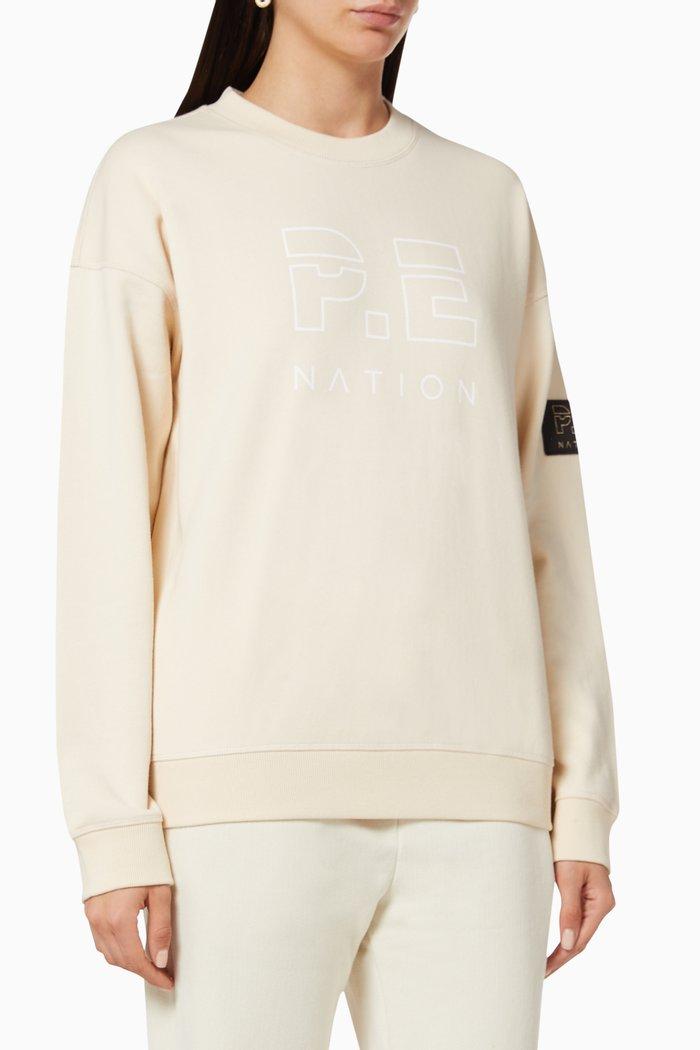 Heads Up Cotton Terry Jersey Sweatshirt