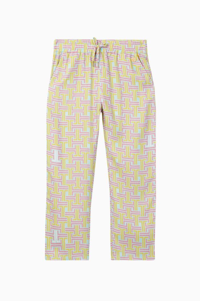 Maze Print Trousers