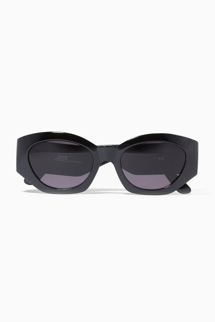 Oval Logo Sunglasses