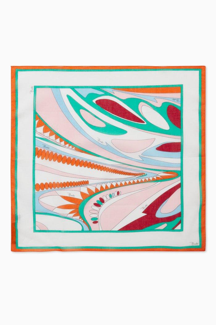 Classic Pucci Print Scarf in Silk