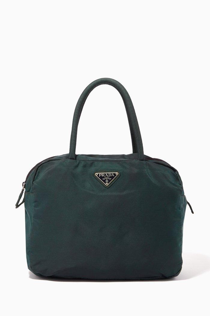 Triangle Logo Handbag in Nylon