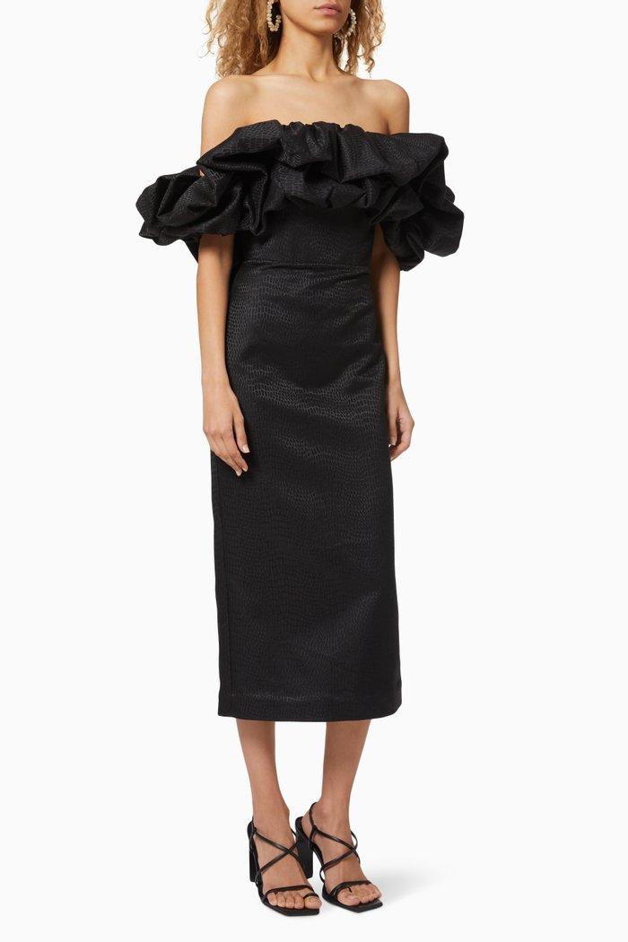 Fields Ruffled Dress