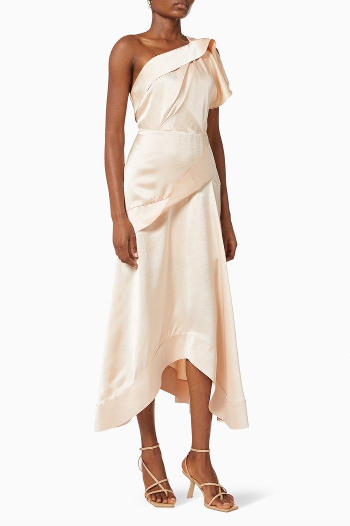 Bonham Dress in Satin