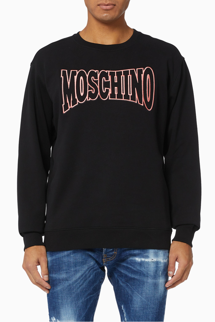 College Logo Sweatshirt