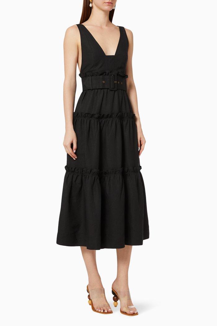Nicolette Tiered Midi Dress