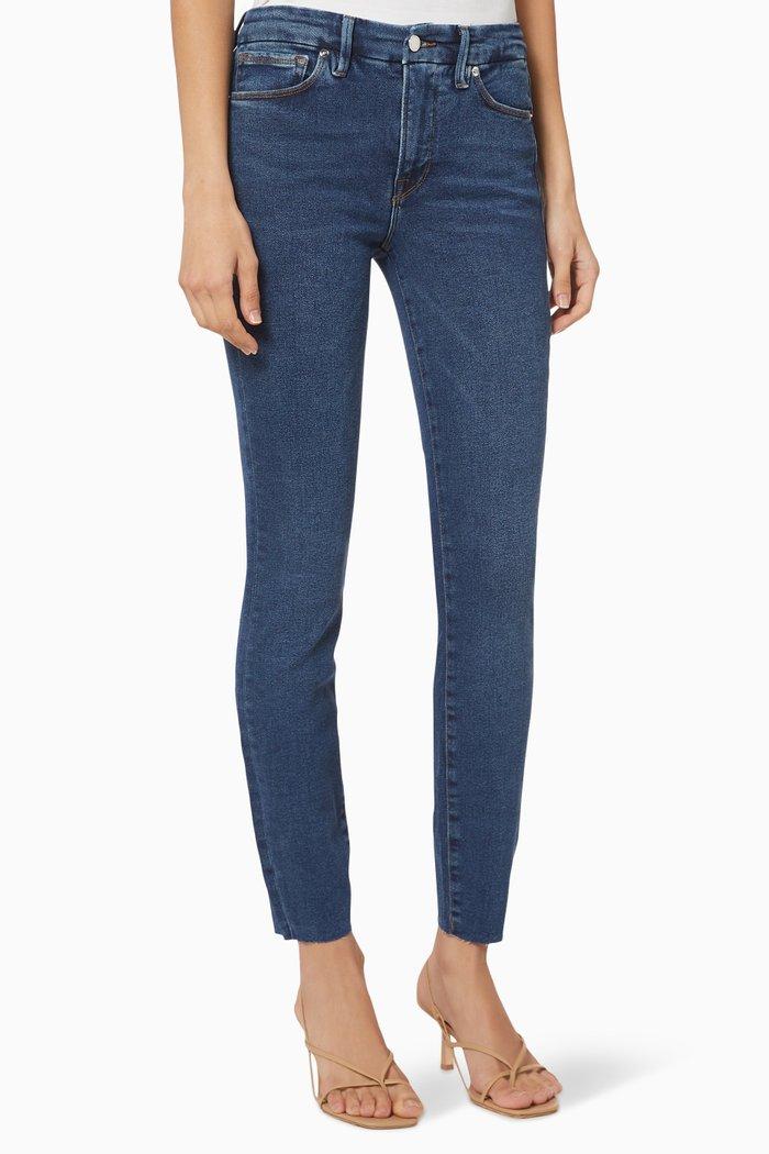 Good Legs Raw Edge Jeans