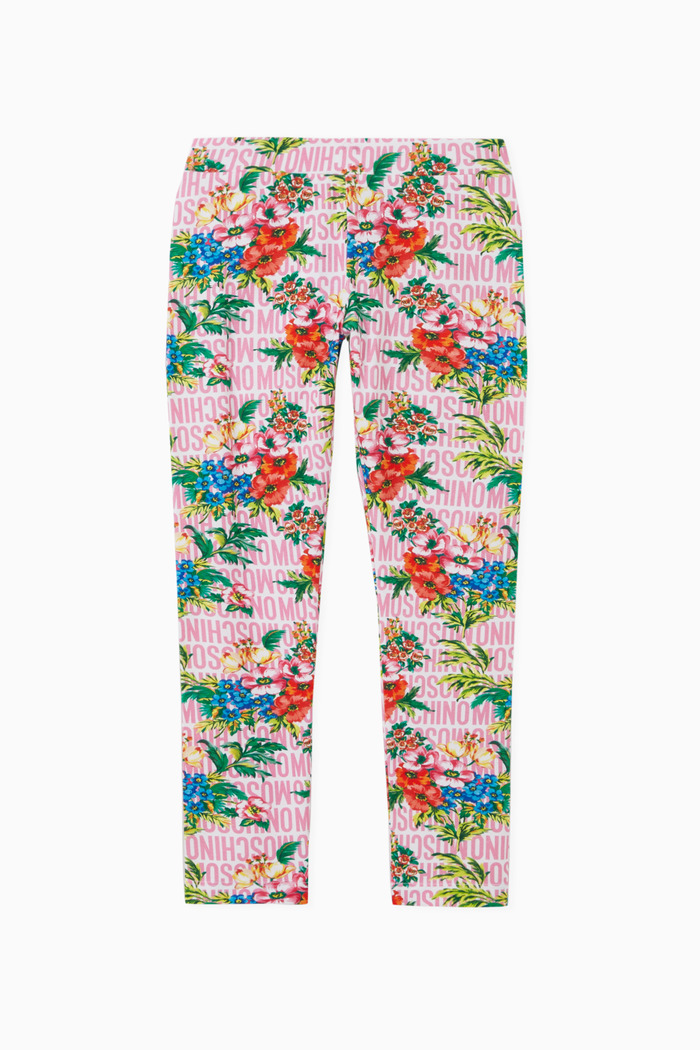 Lost & Found Leggings with Floral Print