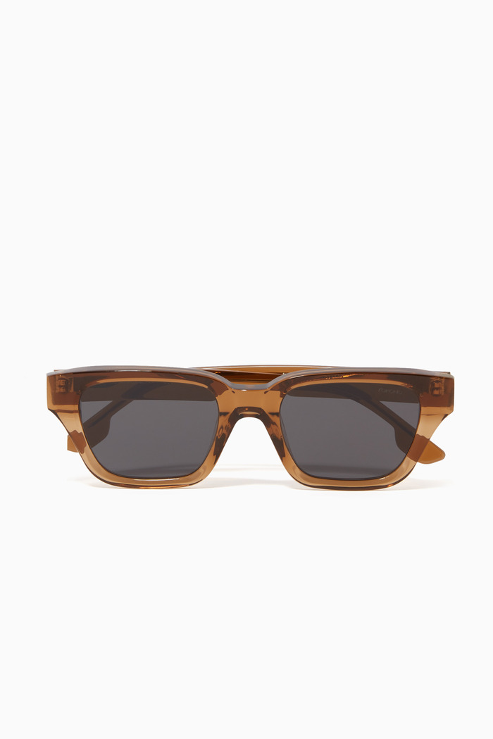 Brooklyn Wayfarer Frame Sunglasses