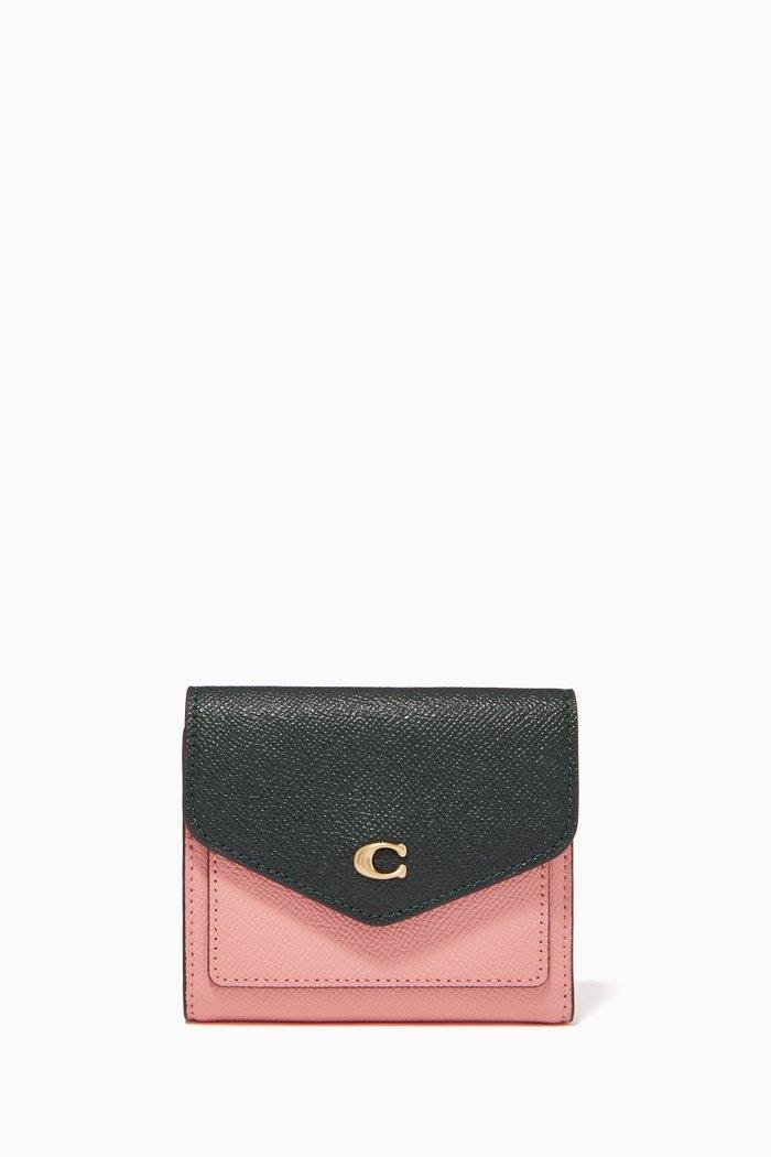 Small Wyn Wallet in Crossgrain Leather