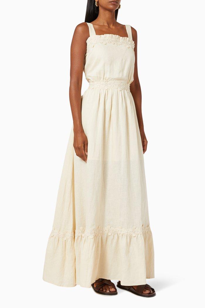 Marly Linen Maxi Dress