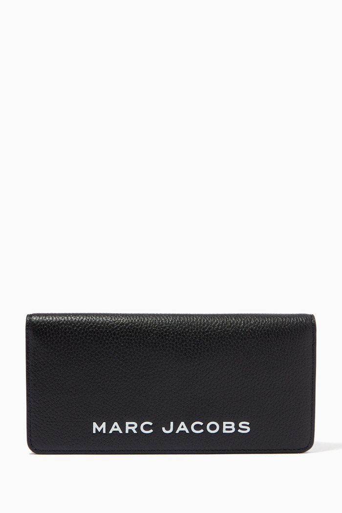 The Bold Open Face Wallet in Leather