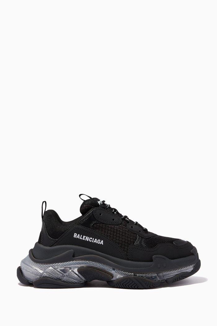 Triple S Clear Sole Sneaker in Double Foam & Mesh