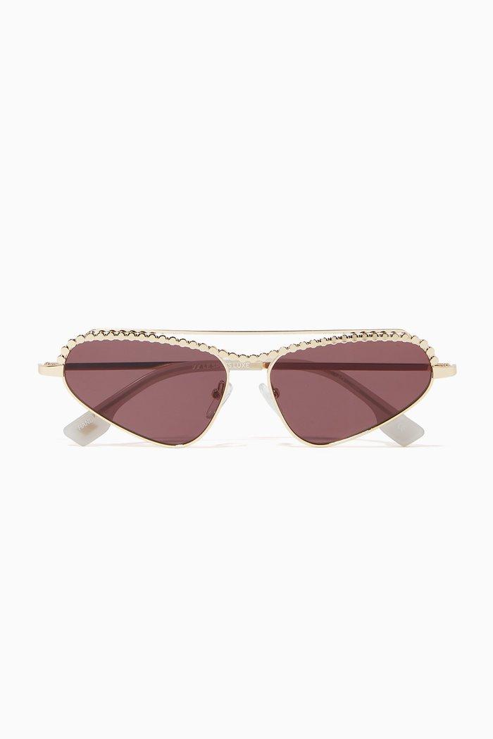 Nekton Cat-Eye Sunglasses