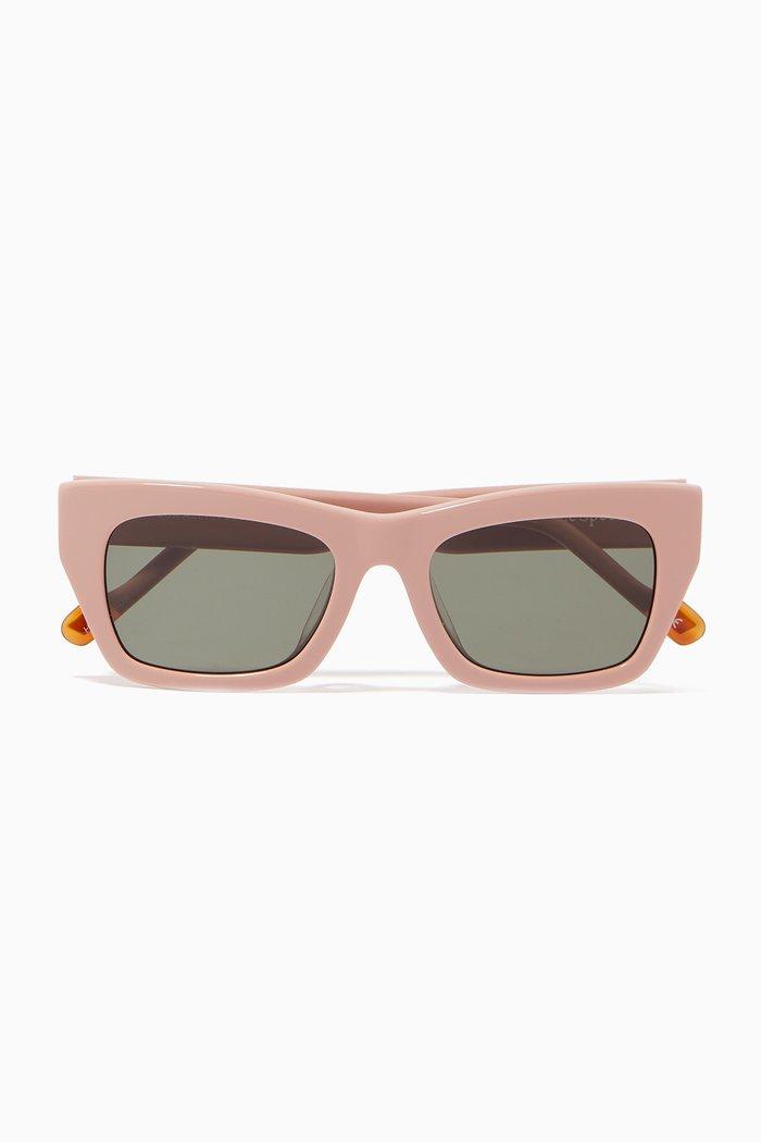 Vega Alt Fit Rectangle Sunglasses