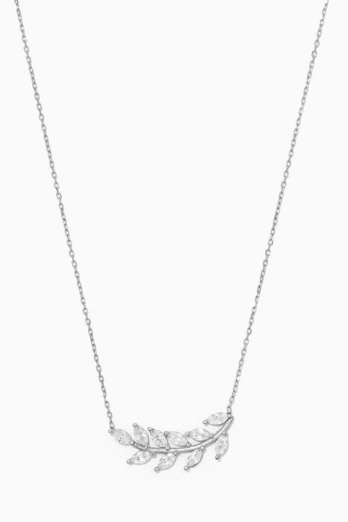 Love Ladder Necklace in Sterling Silver