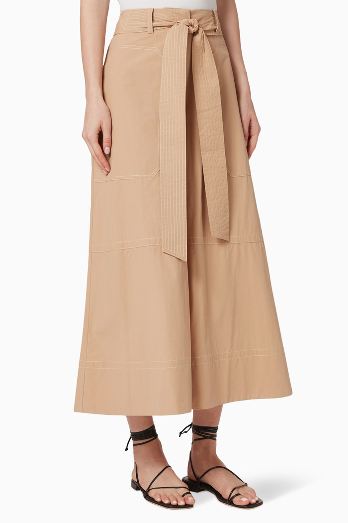 May Flared Cotton Culottes