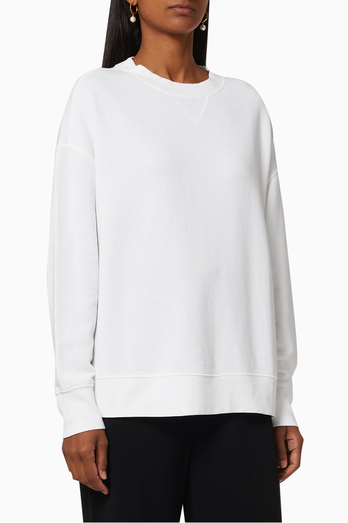 Essential Relaxed Cotton Pullover