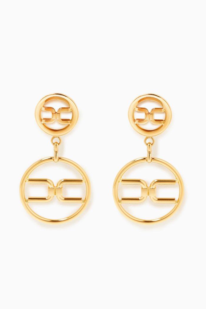 Ring Logo Earrings