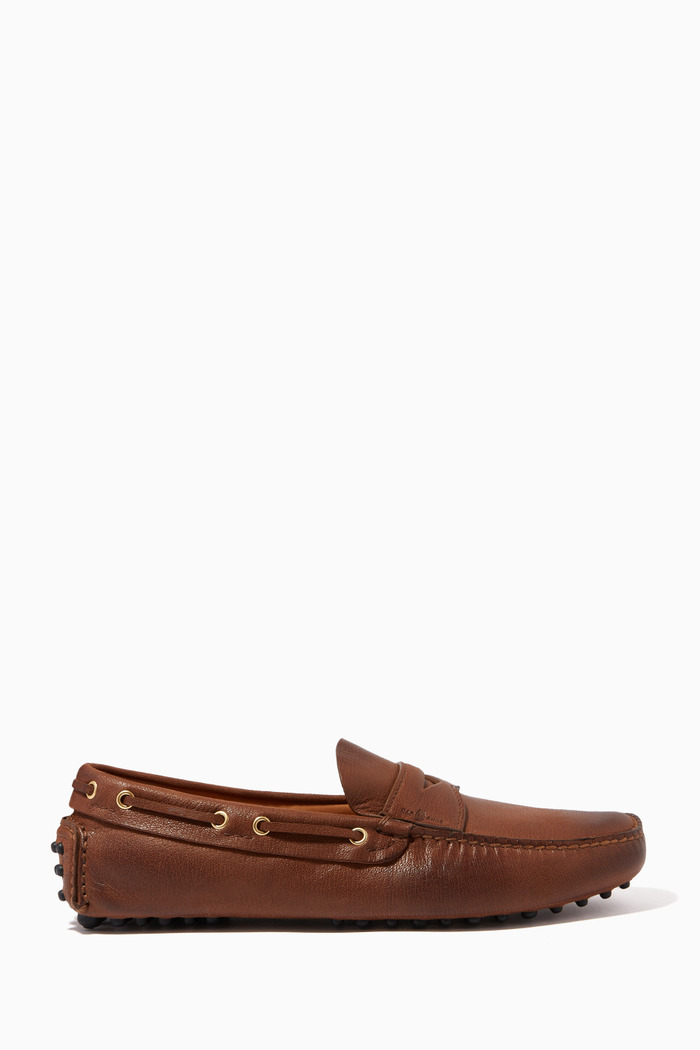 Penny Loafers in Leather