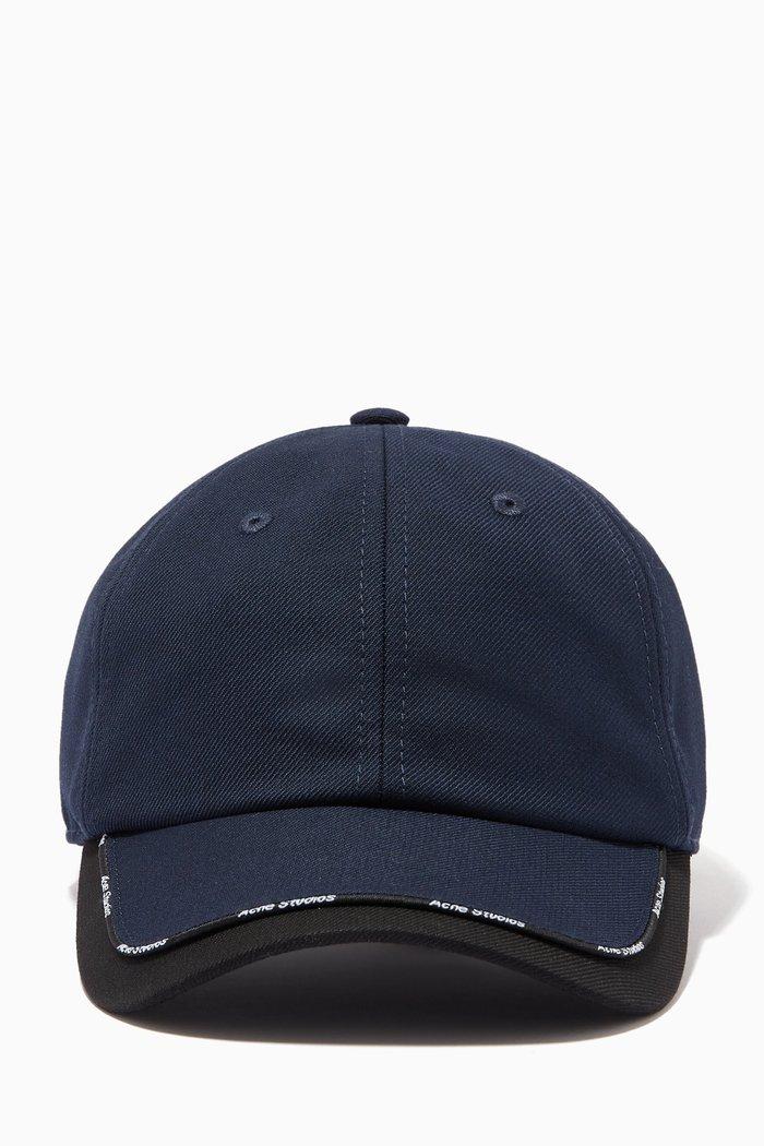 Baseball Cap in Cotton Blend