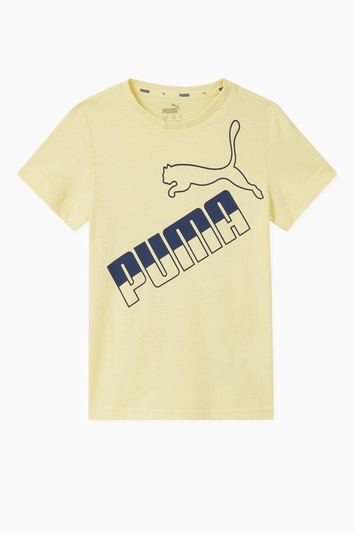 Amplified Logo Cotton T-shirt