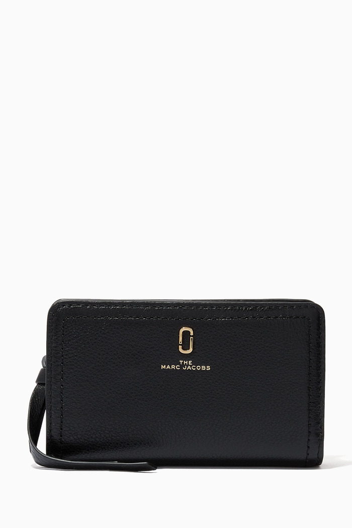 Softshot Compact Wallet in Leather