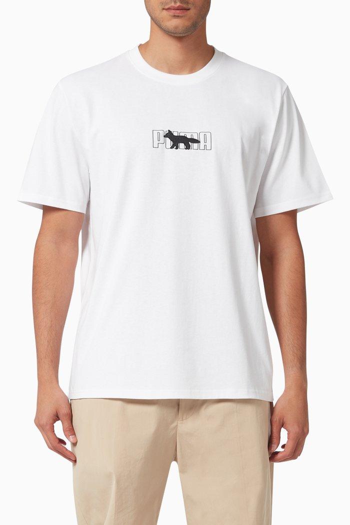 x Maison Kitsuné Oversized T-shirt